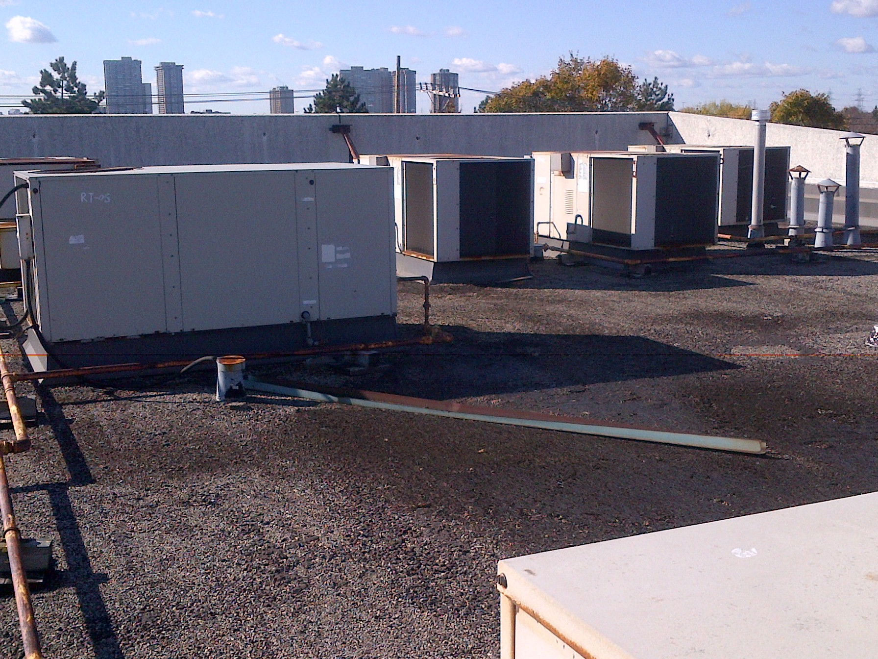 York Lennox Carrier Goodman Packaged Rooftop Unit Rooftop