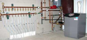 Hydronic Radiant Floor Snow Ice Melting Heating Systems
